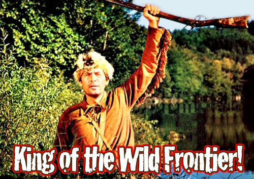 """a biography of davy crockett the king of the wild frontier Of the song """"davy crockett, king of the wild frontier  davy joined up with a cattle drover who was heading to front royal, virginia and."""