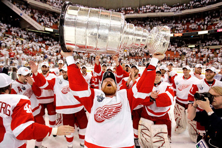 will the red wings win the stanley cup