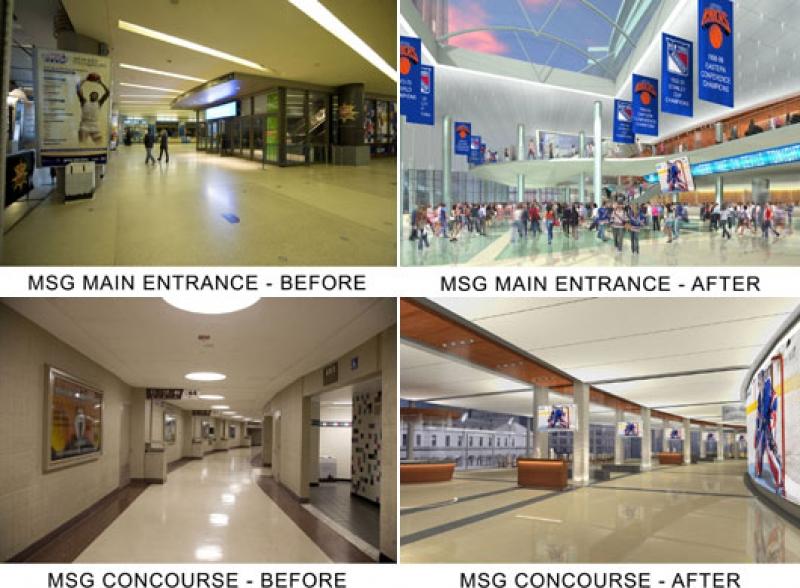 Madison Square Garden Will D Angelo Stadien Architektur