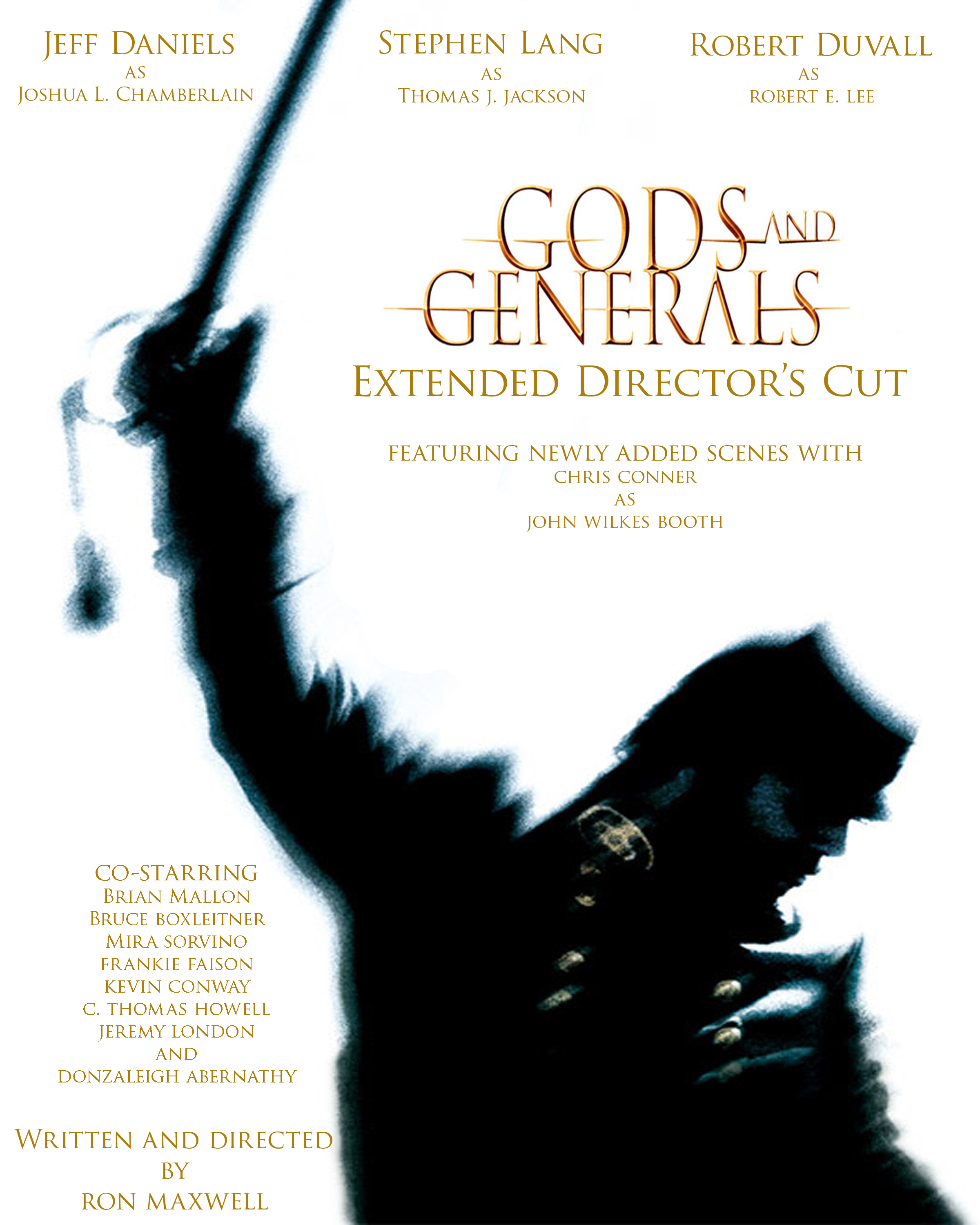 Gods and generals affiche