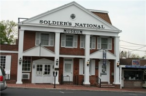 "One of the locations featured in the ""Ghosts of Gettysburg"" episode Friday night."
