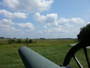 A picture I took before I walked the route of Pickett's Charge.