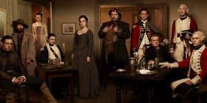 """The main characters of """"Turn""""."""