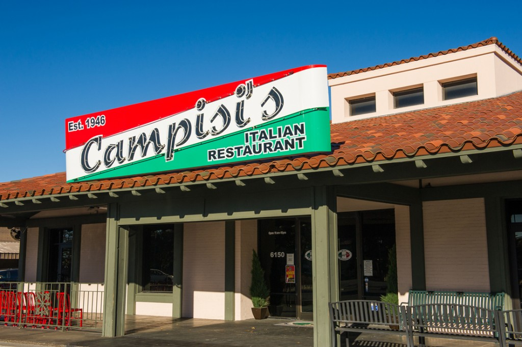 Food Amp Spirits Hey Campisi S Pizza Was Pretty Good Too