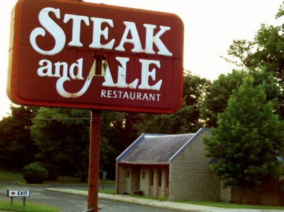 A recent shot of Middletown NJ's defunct Steak & Ale.