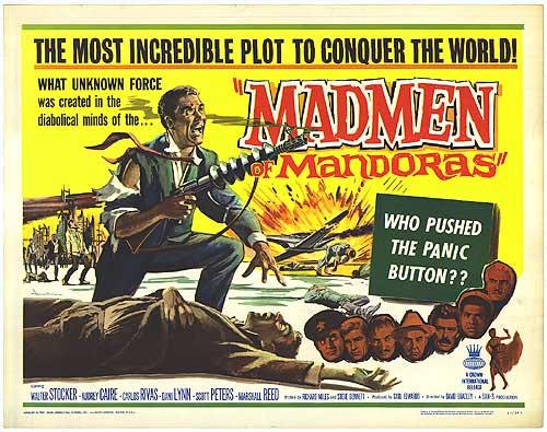 """HALLOWEEN 2K16: A Review of """"The Madmen of Mandoras"""" (1963"""