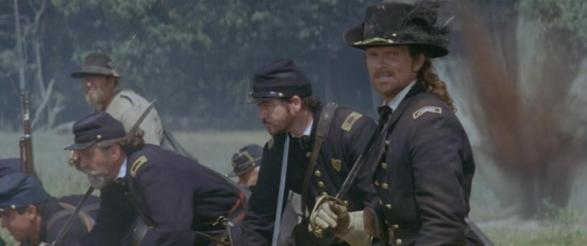 "James Horan as Col. Arthir Cummings in ""Gods and Generals"" (2003)."